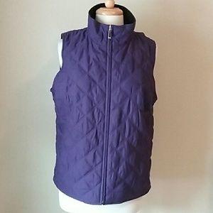 Jones NY reversible vest Sz L
